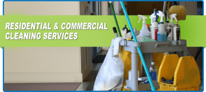 Residential & commercial-cleaning services